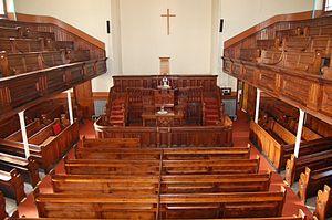 Saron, Aberaman - Interior of Saron, Aberaman
