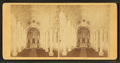 Interior views of Immaculate Conception showing the central altar, from Robert N. Dennis collection of stereoscopic views.png