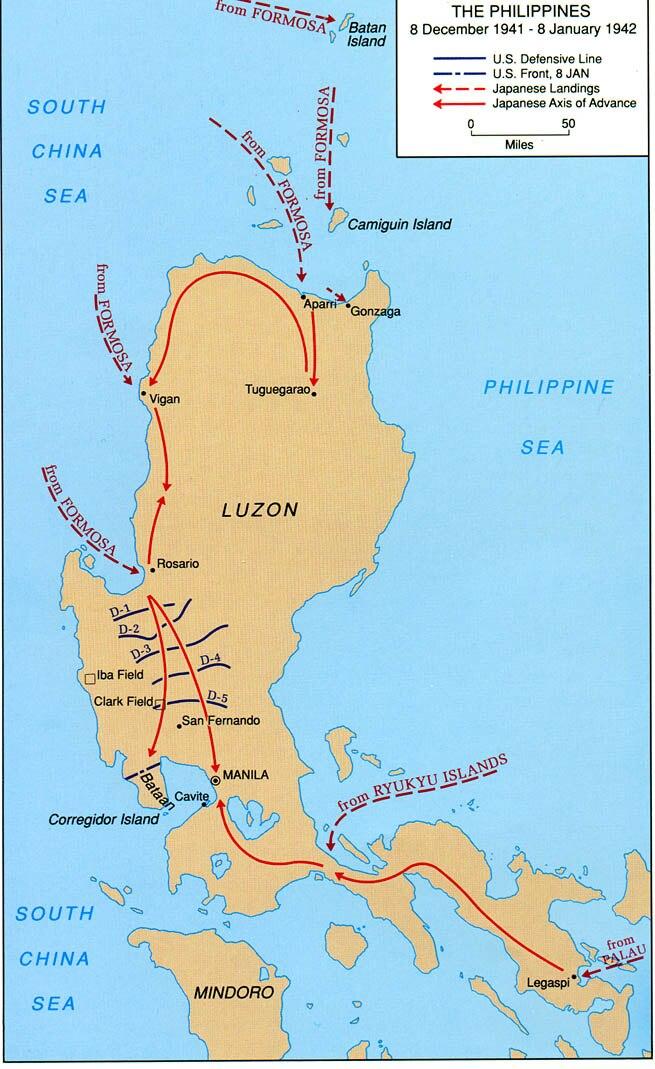 Invasion of the Philippines, 1941