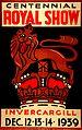Invercargill Centennial Royal Show Poster (15962002606).jpg
