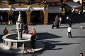 Ippokratous Square , Plateia Ippokratous, the Old Town (World Heritage City, UNESCO). Rhodes, the island of Rhodes, the Dodecanese, Greece.jpg