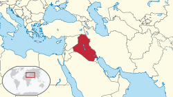 Iraq in its region.svg