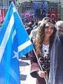 Iraqi Turkmen woman in Istanbul.jpg