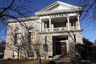 Iron Mountain, Michigan - Carnegie library
