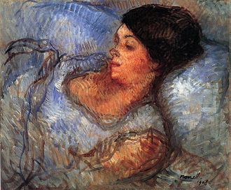 Isidre Nonell - Painting Study, 1908