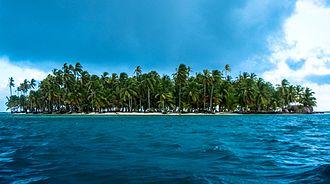 Cayos Limones - Image: Island of Chichimen, Cuyos Limones, Guna Yala, Panama