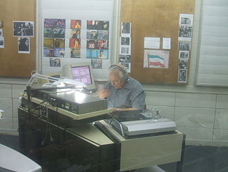 Israel Radio International - The studio of Israel Radio's Persian service