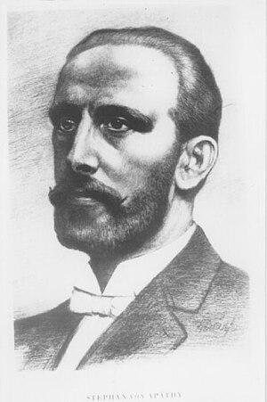 István Apáthy - Image: István Apáthy (1863 1922) Hungarian zoologist