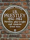 J.B. PRIESTLEY 1894-1984 Novelist playwright and essayist lived here.jpg