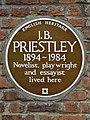 J.B. PRIESTLEY 1894-1984 Novelist playwright and essayist lived here.jpg