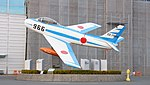 JASDF F-86F(02-7966) at Hamamatsu Air Base Publication Center November 24, 2014 06.jpg