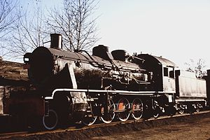 China Railways JF3 - JF3-2558 at the Shenyang Steam Locomotive Museum