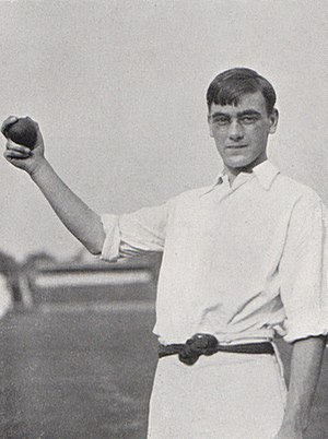 Jack Crawford (cricketer) - Jack Crawford in 1906