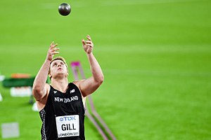Jacko Gill - Gill at the 2017 World Championships
