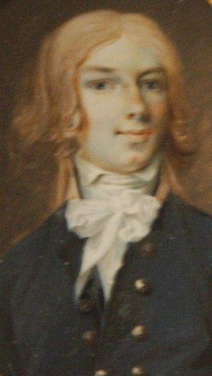 Jacob Axel Gillberg - Self-portrait by Gillberg