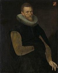Cornelis Ketel: Portrait of Jacob Cornelisz Banjaert, called van Neck (1564-1638). Admiral & mayor of Amsterdam