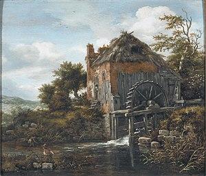 Wassermühle bei einem Bauernhof (Jacob Isaacksz. van Ruisdael)