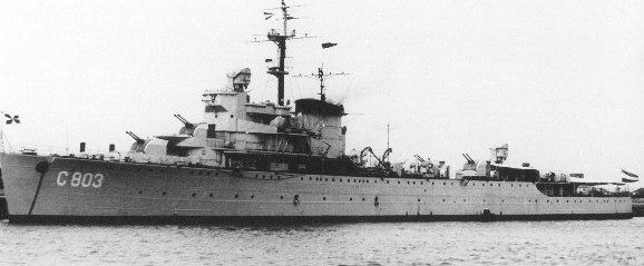 Jacob van heemskerk light cruiser