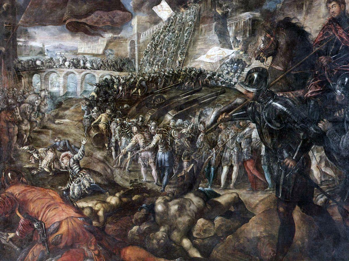 Primo assedio di Parma (1521) - Wikipedia
