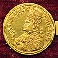 Jacopo antonio moro, medaglia di paolo V benedicente, 1617, oro.JPG