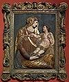 Jacopo sansovino, madonna col bambino, cartapesta, venezia 1540 ca.jpg
