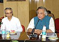 Jairam Ramesh addressing after releasing the book titled 'Standard Operating Procedures for Sterilisation of Stray Dogs under the Animal Birth Control Programme', in New Delhi on July 10, 2009.jpg