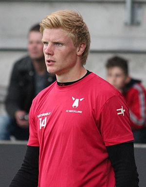 Jakob Haugaard - Haugaard in 2013 with FC Midtjylland