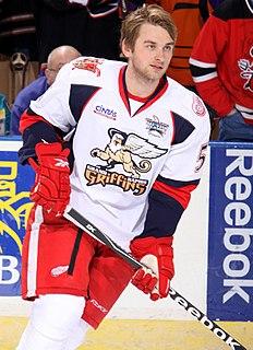 Jakub Kindl Czech ice hockey player