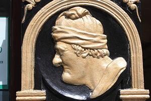 James Gillespie (philanthropist) - Image: James Gillespie plaque, Royal Mile, Edinburgh
