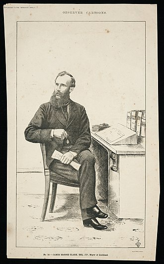 James Clark (businessman) - James McCosh Clark in 1882 during his time as Mayor of Auckland