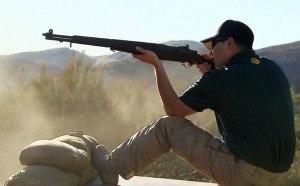 Jamie Franks (professional shooter) - Image: Jamie franks shooting