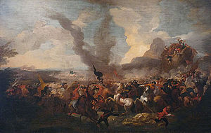 Jan Pieter van Bredael the Younger - Battle victory against the Turks