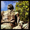 Jan Smuts at the start of Government Avenue, Cape Town by sculpture Ivan Mitford-Barberton.JPG