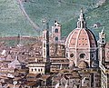 Jan Van der Straet (known as Giovanni Stradano) - The siege of Florence - Google Art Project - duomo e battistero.jpg