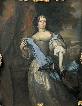 Hieronymus van Beverningh - Johanna le Gillon (1635–1706) by Jan de Baen