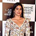 Janhvi Kapoor snapped at the Lakme Fashion Week 2018 grand finale (03) (cropped).jpg