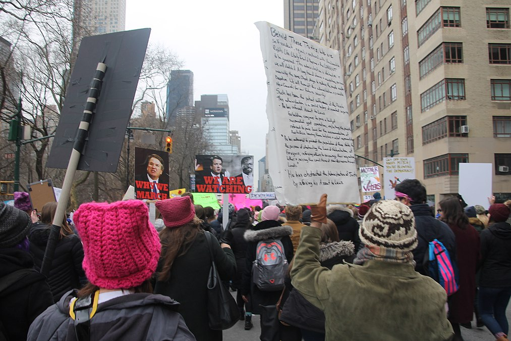 January 2019 Women's Alliance march in NYC (46806303341).jpg
