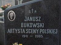 Janusz Bukowski Grave.jpg