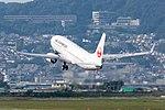 Japan Airlines, B737-800, JA345J (21539981338).jpg