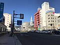 Japan National Route 35 in front of Sasebo Station.jpg