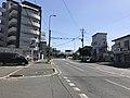 Japan National Route 495 near Kyushu Sangyo University 3.jpg