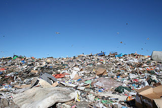 Jardim Gramacho neighborhood and one of the largest landfills in the world