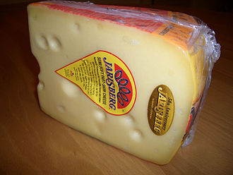 Jarlsberg cheese - Image: Jarlsberg cheese