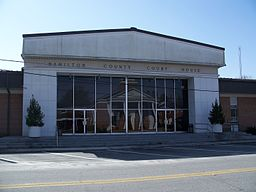 Hamilton Countys domstolhus i Jasper.