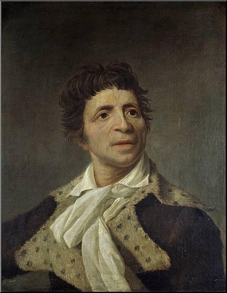 Retrato de Juan Pablo Marat.