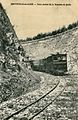 Jeanse - BRETTEVILLE-sur-LAIZE - Train sortant de la tranchée de Quilly.JPG