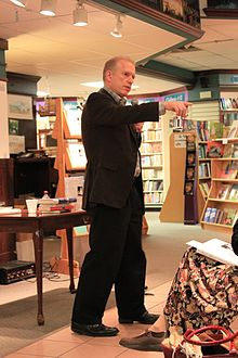 Jeffrey Zaslow at Nicola's Books Ann Arbor Michigan.JPG