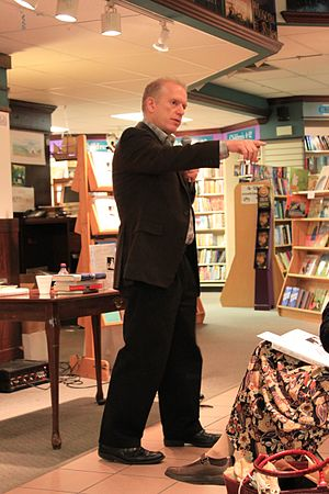 Jeffrey Zaslow - Zaslow at a book signing event in Ann Arbor, Michigan, February 7, 2012.