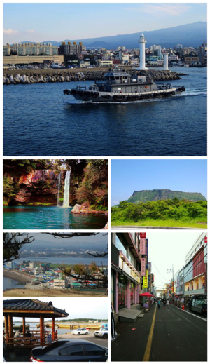 Jeju Province - Image: Jeju Island montage