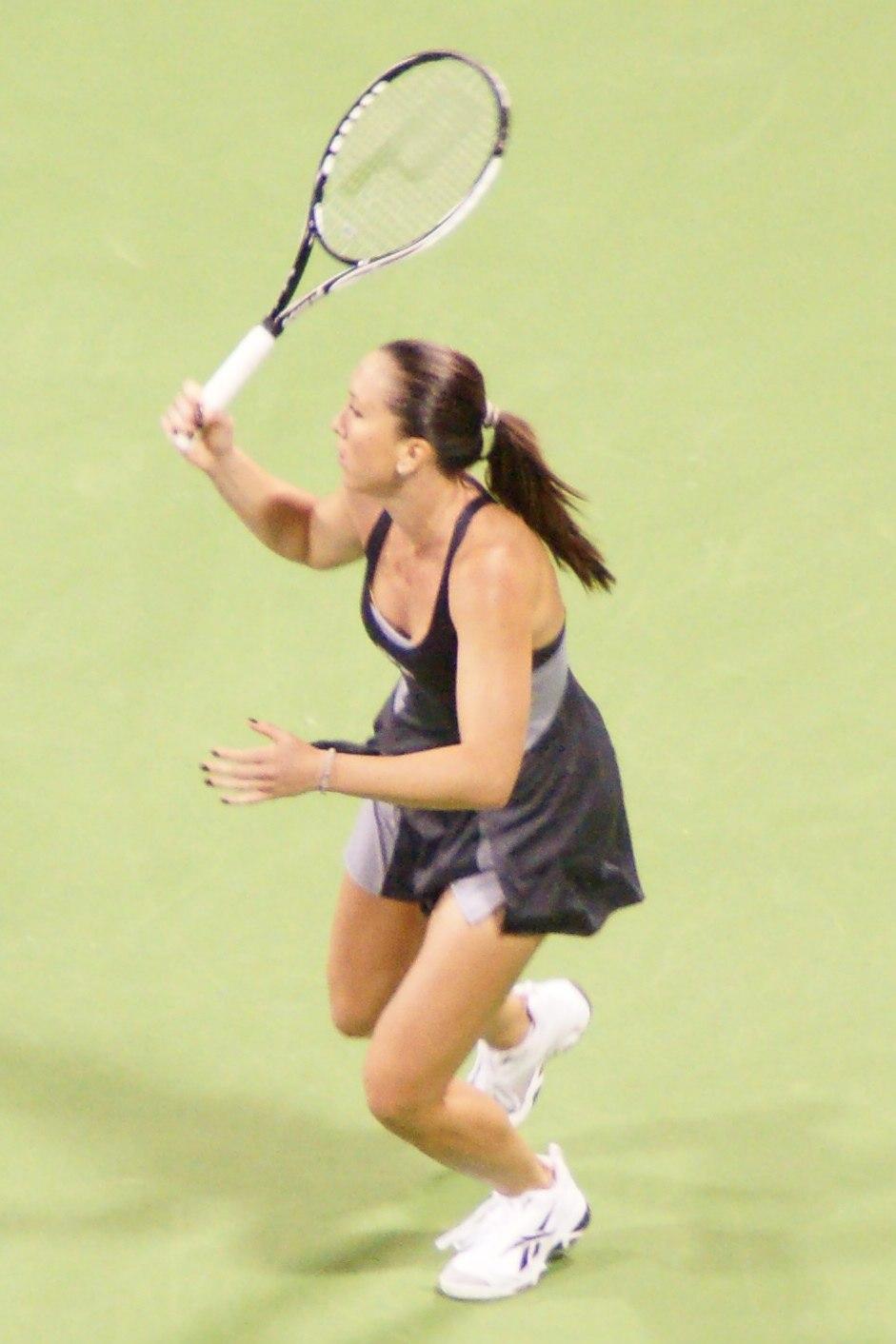 Jelena Jankovic at the 2008 WTA Tour Championships